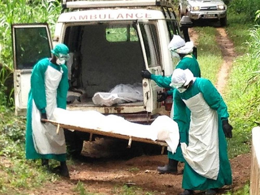 Afrika skelbia karą Ebolos virusui