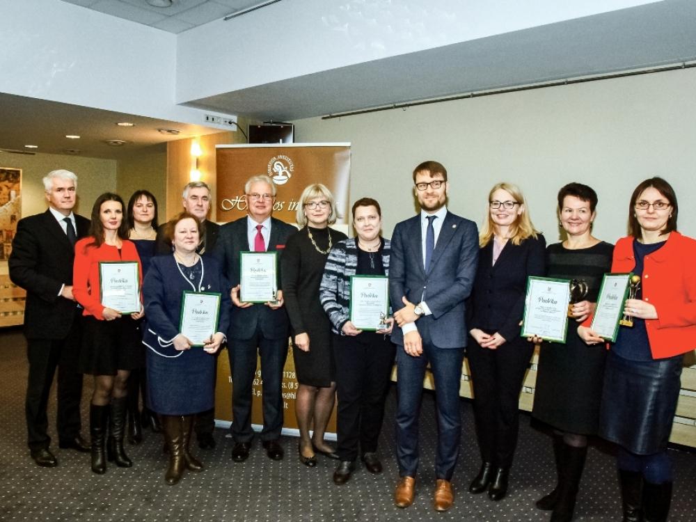 Apdovanotos aktyviausiai su antimikrobiniu atsparumu kovojančios ligoninės
