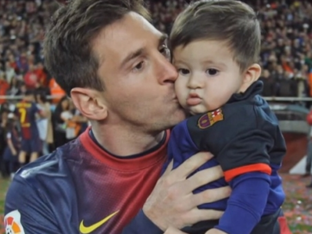 "Lionelis Messi: ""Gyvenime man svarbiausia šeima"""