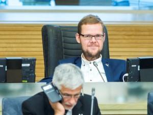 Justas Džiugelis: dirbti Seime trukdžių nėra