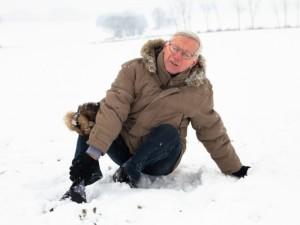 Kaip senjorams išvengti traumų žiemą?
