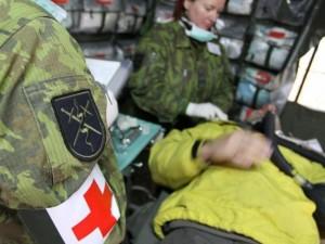 Aūūū, kur jūs, karo medikai?