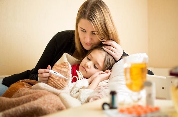 Vaikas peršalo: kada griebtis antibiotikų