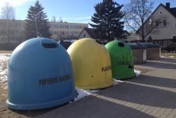 Vilniuje pradėtas atliekų konteinerių ženklinimas
