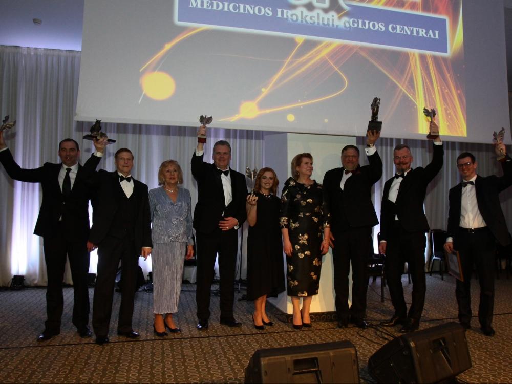 Vilniuje pagerbti geriausi sveikatos apsaugos sistemos vadovai ir gydytojai (papildyta nuotraukomis)