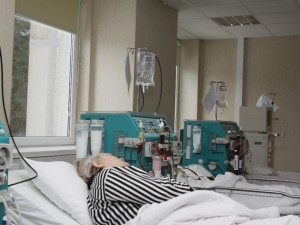 Slaugos įstaigos purtosi dializuojamų ligonių