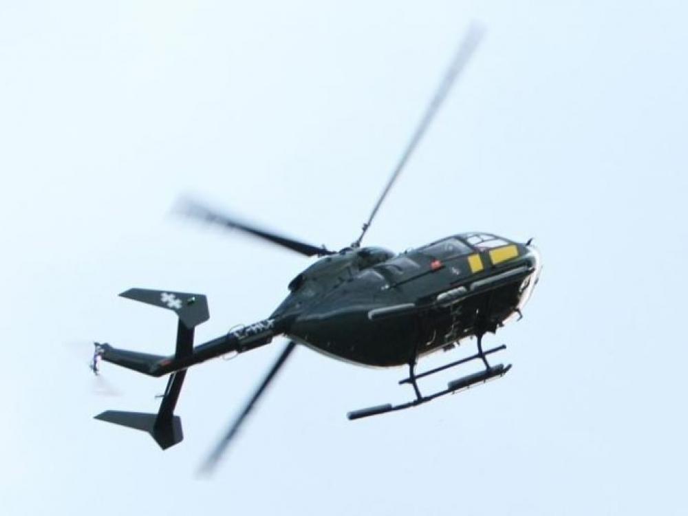 Donoro širdį gabeno kariškių sraigtasparnis