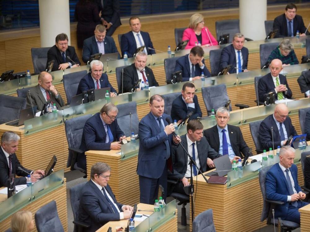 Seimas apsispręs dėl parlamentinės Sveikos gyvensenos komisijos