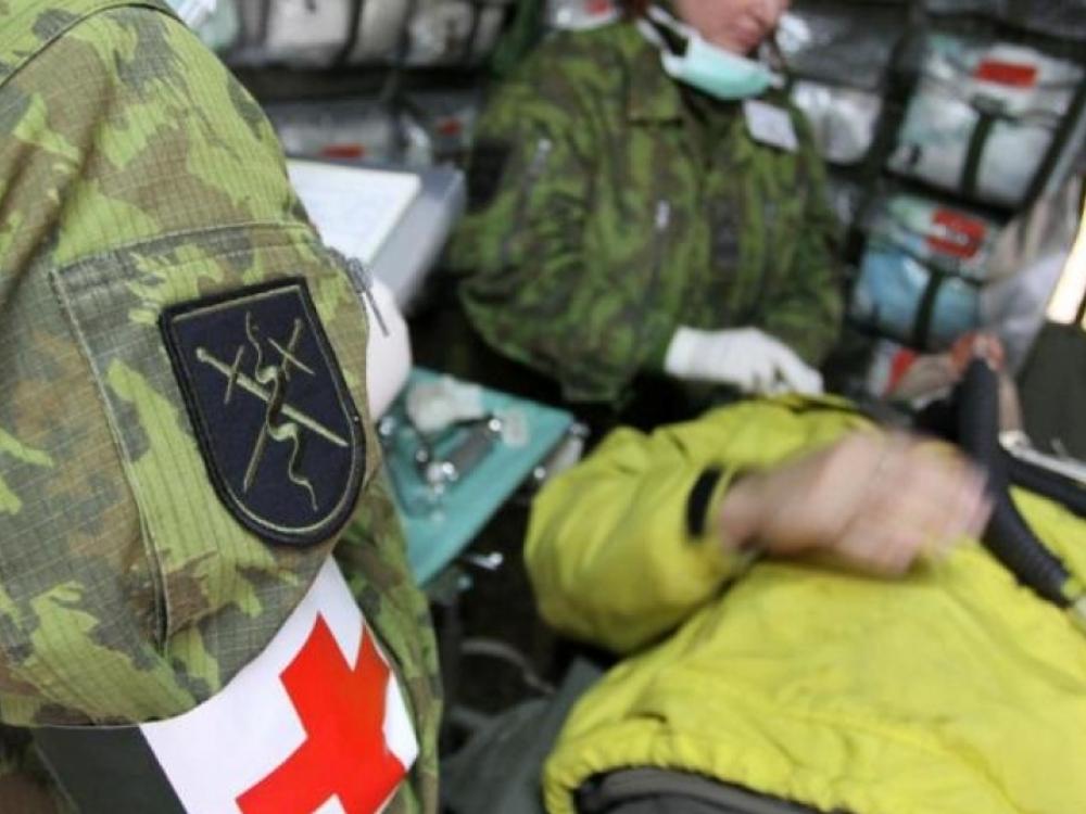 Medikai - kaip kariuomenės rezervas
