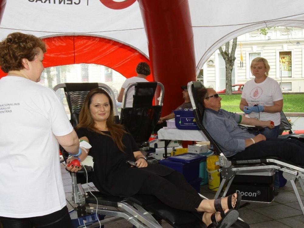 Šiandienos siekis –  išsaugoti donorų pasitikėjimą