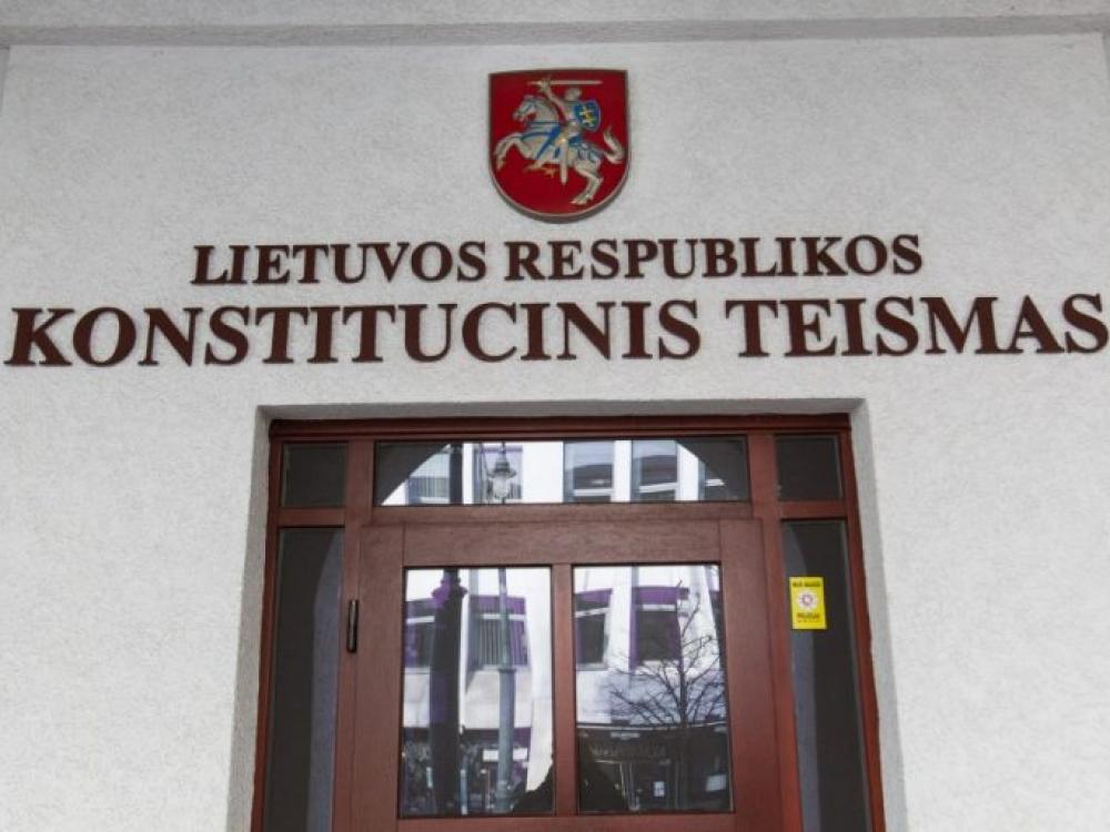 KT vertins, ar Sporto universiteto prijungimas prie LSMU neprieštarauja Konstitucijai