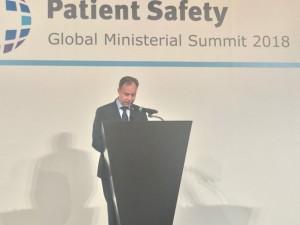 Vizito Japonijoje metu daugiausiai dėmesio skirta pacientų saugai