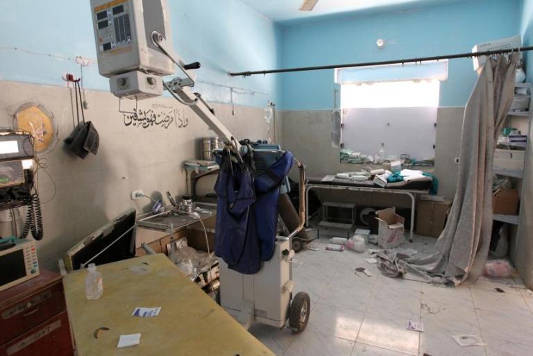 Sirijos sveikatos apsaugos griuvėsiai