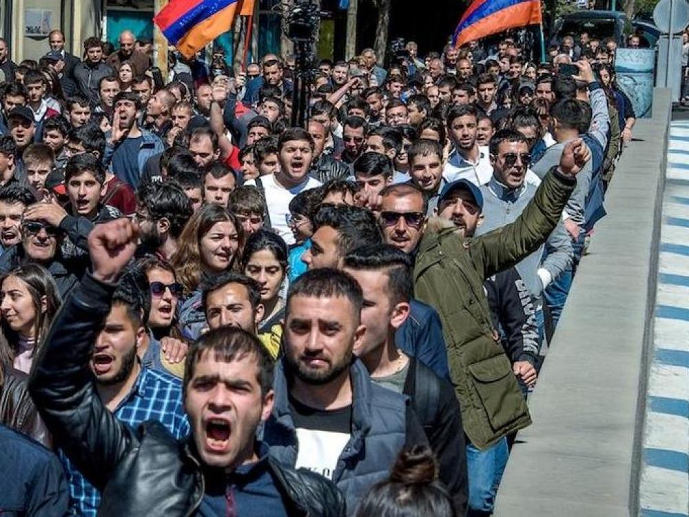 Armėnijos aksominė revoliucija