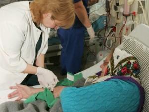 Sunkios būklės dializuojami ligoniai pasmerkiami mirčiai