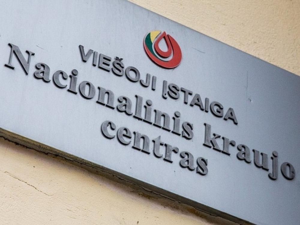 Kraujo centro byloje suimtas verslininkas paleistas į laisvę