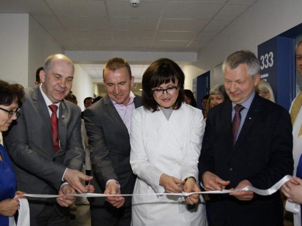 Ukmergės ligoninėje iš pagrindų atnaujintas Vidaus ligų skyrius