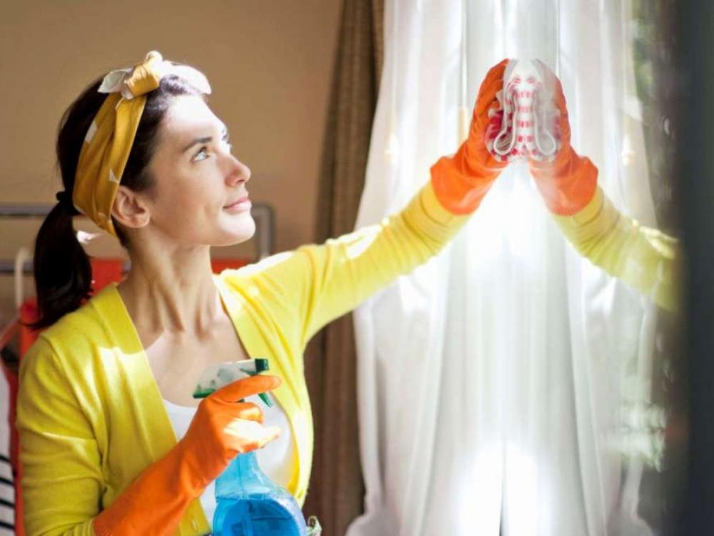 Kaip saugiau iškuopti namus