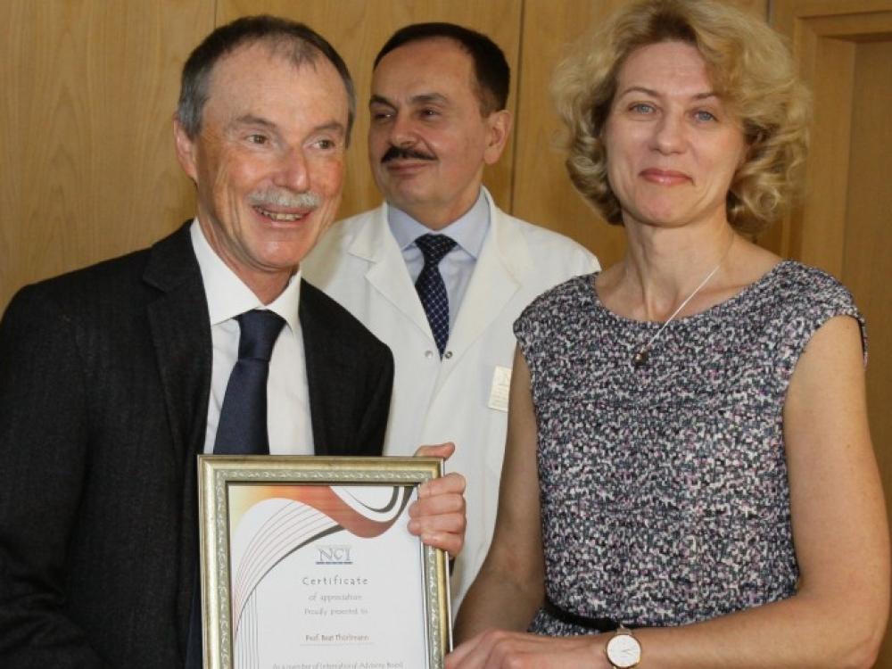 Lietuvos onkologų komanda sulaukė užsienio kolegų pastiprinimo