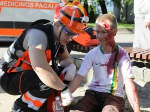 Palangoje vyksta greitosios medicinos pagalbos žaidynės