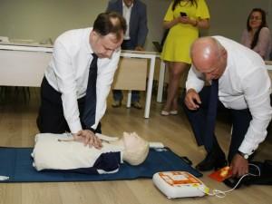 Lietuvoje bus įrengtas specialus pagalbos tinklas su defibriliatoriais