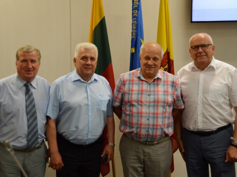 J.Sąlyga prisijungė prie naujos Klaipėdos miesto tarybos frakcijos