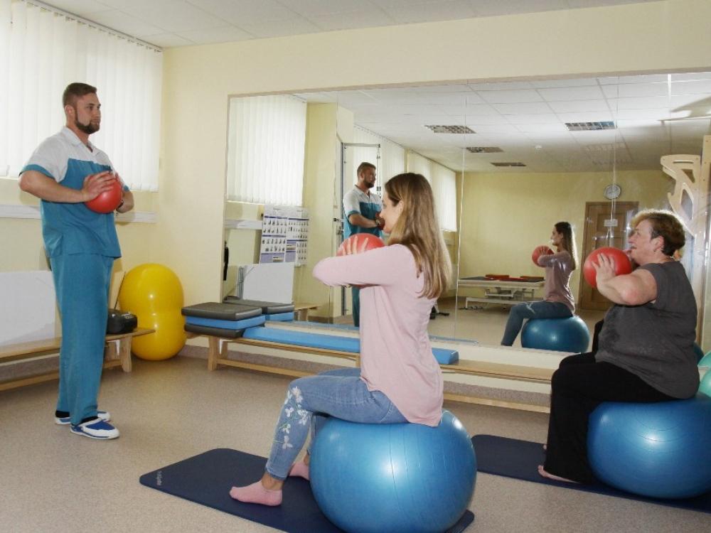 Šiaulių centro poliklinikoje – modernus Fizinės medicinos ir reabilitacijos skyrius