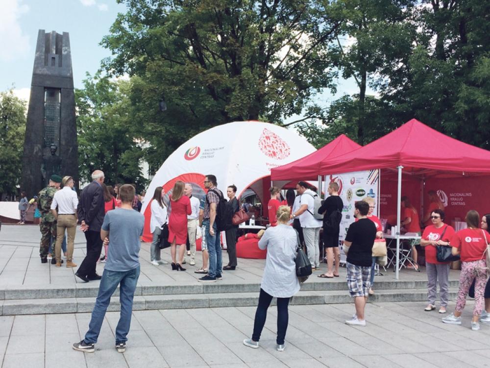 Devintą kartą startuoja Neatlygintinos kraujo donorystės turas per Lietuvą