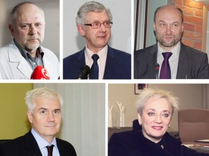 Ieško penkių naujų vadovų