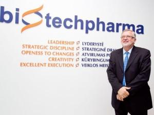 """""""Biotechpharma"""" visą 2017-ųjų pelną skyrė dividendams"""
