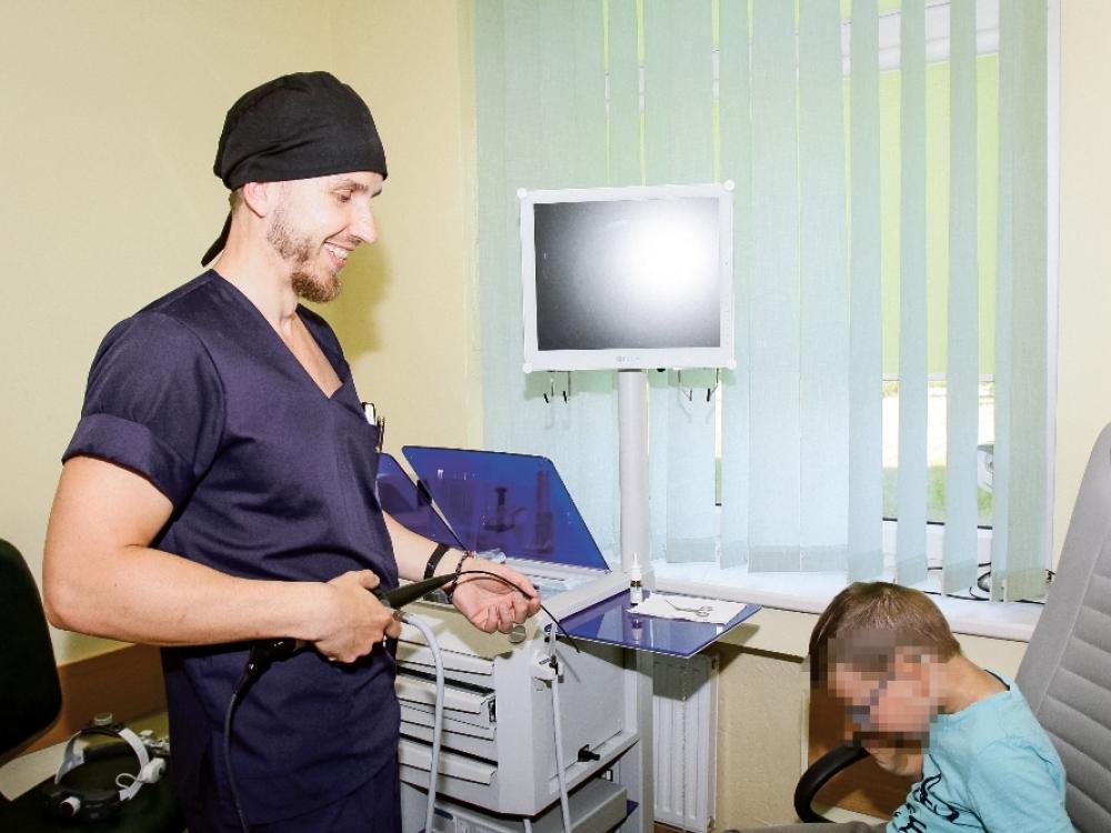 Kompaktiška rajoninė ligoninė Žemaitijoje
