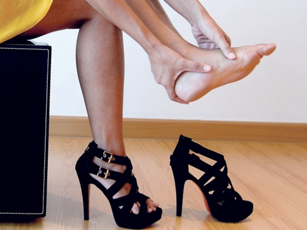 Išsišokusio pėdos kauliuko įkaitės: ką daryti?