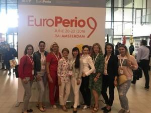 Europos periodontologai rinkosi Amsterdame