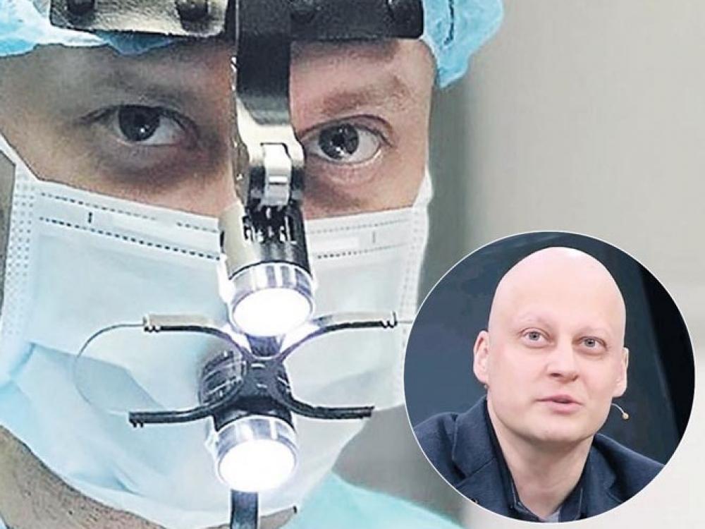 Vėžiu susirgęs onkologas fiksuoja kovą su liga