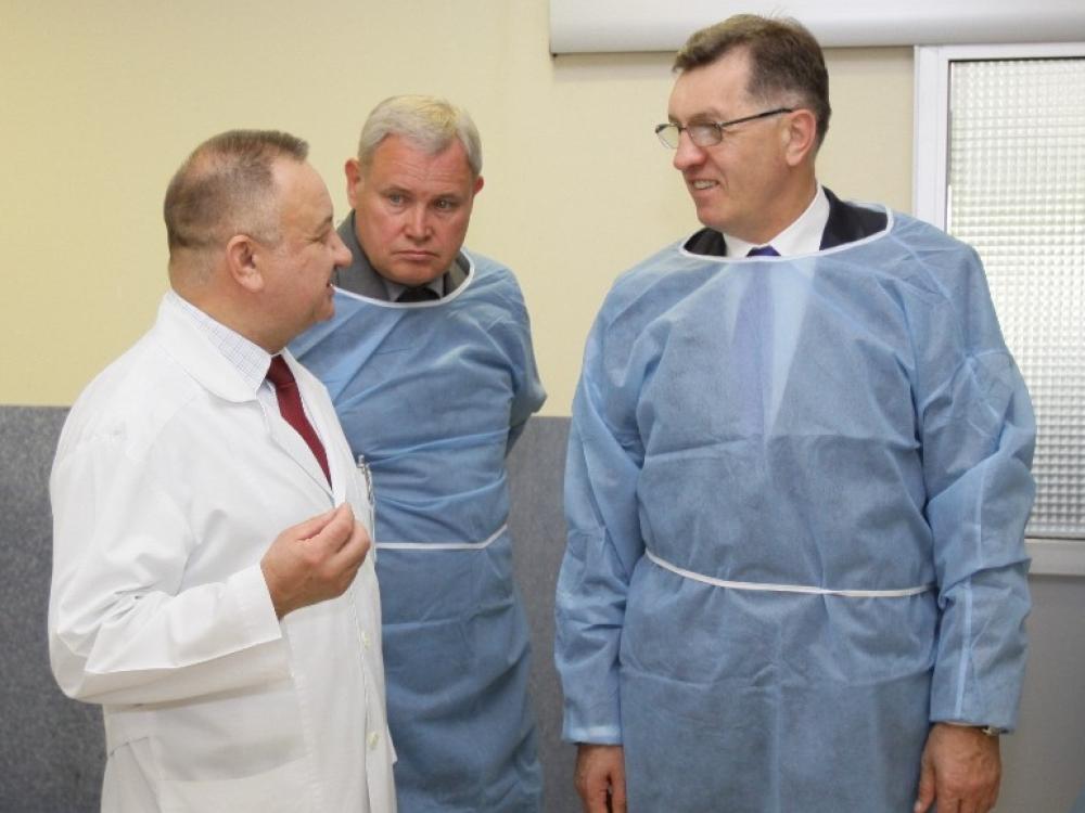 Klaipėdos universitetinė ligoninė nenusileidžia didžiausiems šalies centrams
