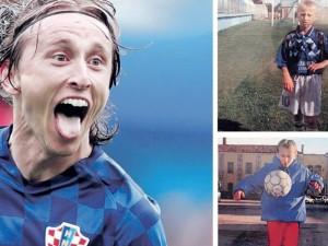 Luka Modričius: pabėgėlis, futbolininko karjerą pradėjęs parkingo aikštelėje