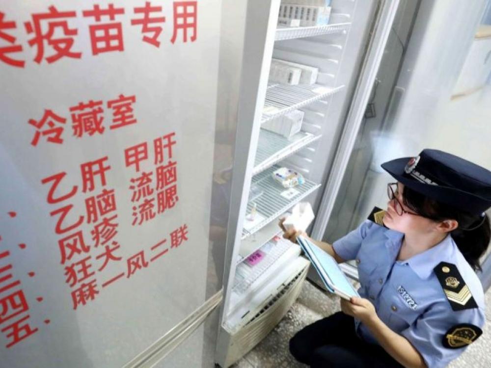 Kinijoje dėl skiepų skandalo sulaikyti 15 žmonių