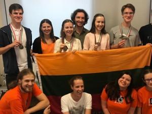 Po įspūdingos pergalės - medicinos studijos Lietuvoje
