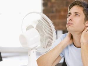 Skundžiasi, kad per karšta