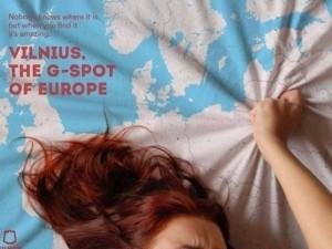 """Vilnius pradeda reklamuotis kaip Europos """"G taškas"""""""