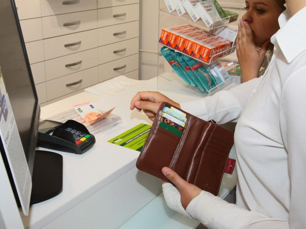 Vaistų politika tuština pacientų pinigines