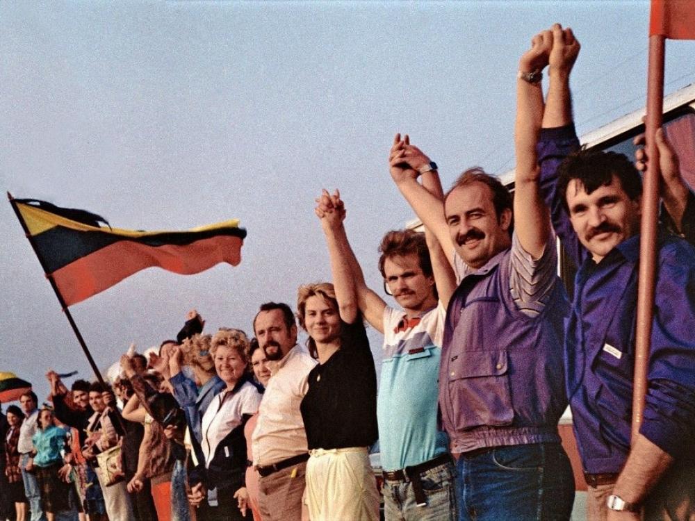 Baltijos keliui – 29-eri: apie labai gerą jausmą ir viltį