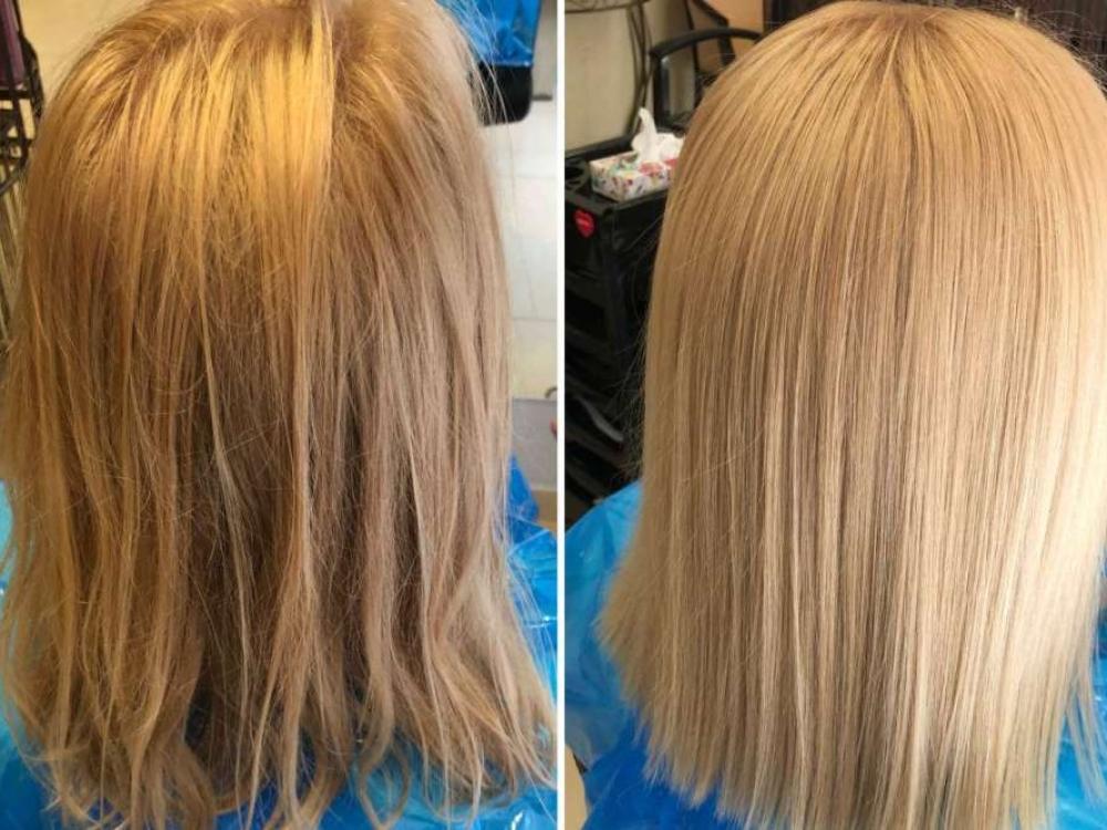 Plaukų stilistė sklaido mitus apie ilgalaikį plaukų tiesinimą