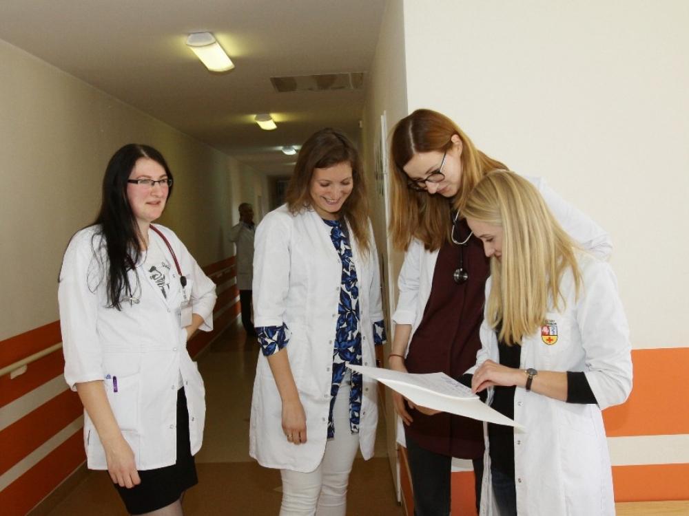 Respublikinė Kauno ligoninė ugdo jaunus talentus