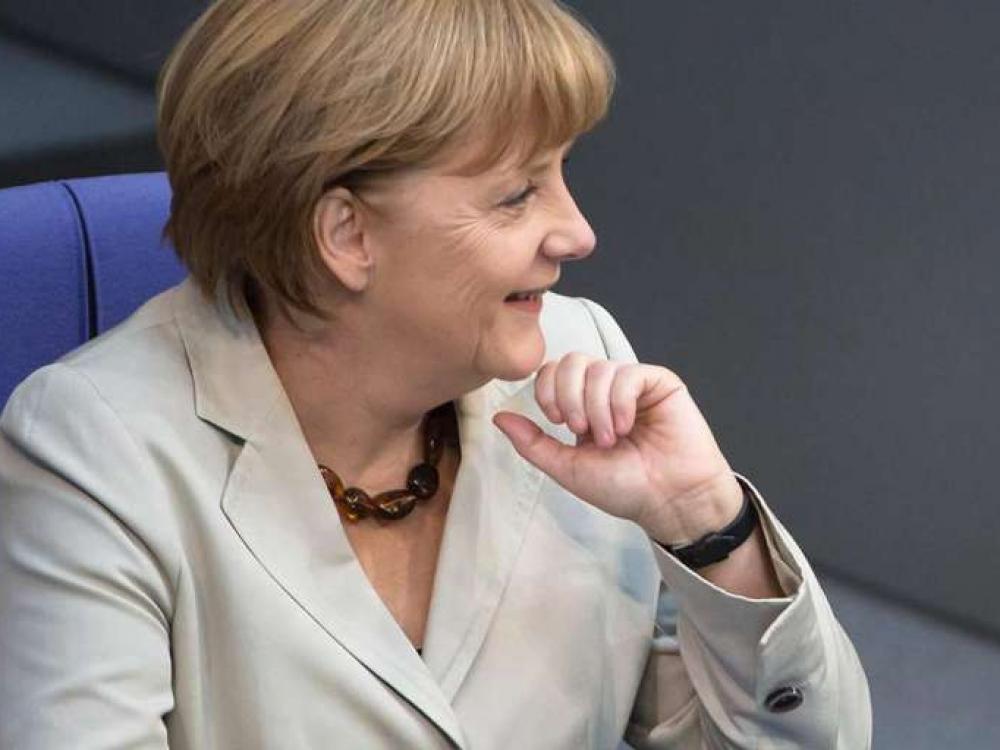 Žvilgsnis į Angelą Merkel: nuo kvantinės chemijos iki politikos