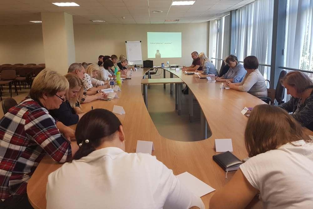 Varėnos rajono savivaldybėje organizuojami mokymai ir supervizijos