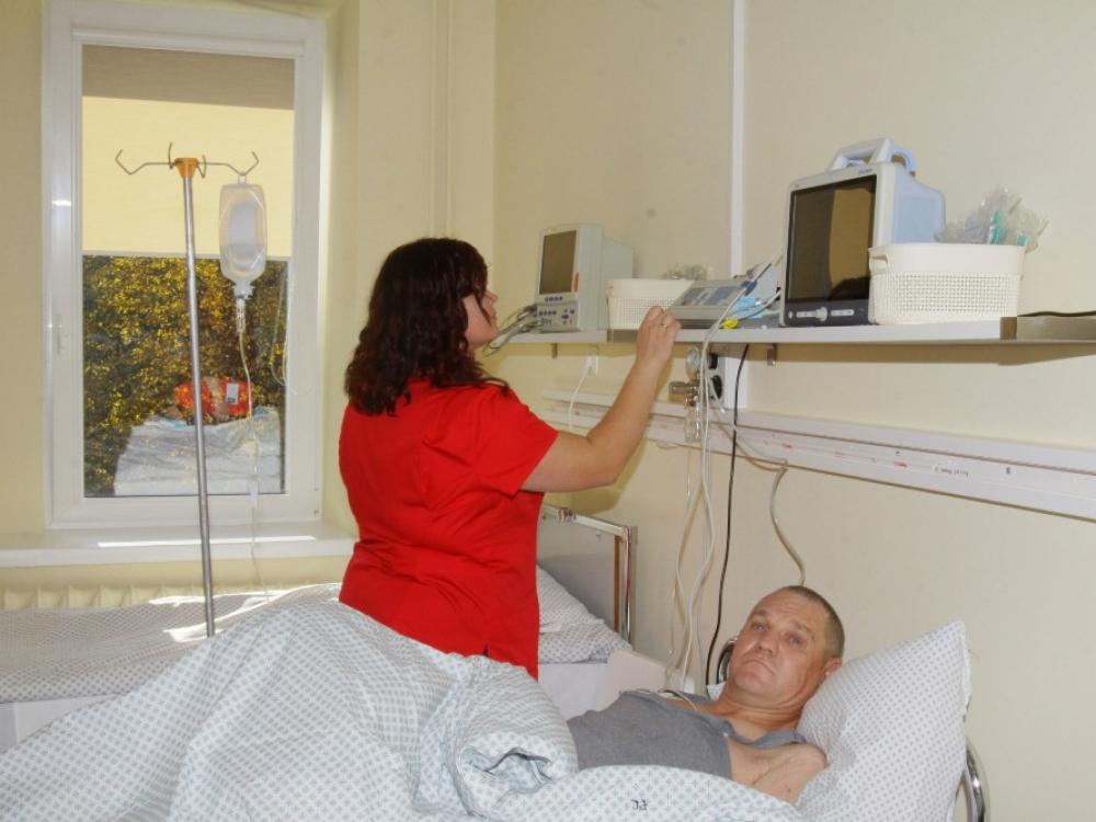 Kėdainių ligoninėje – prošvaistė kovojantiems su skausmu