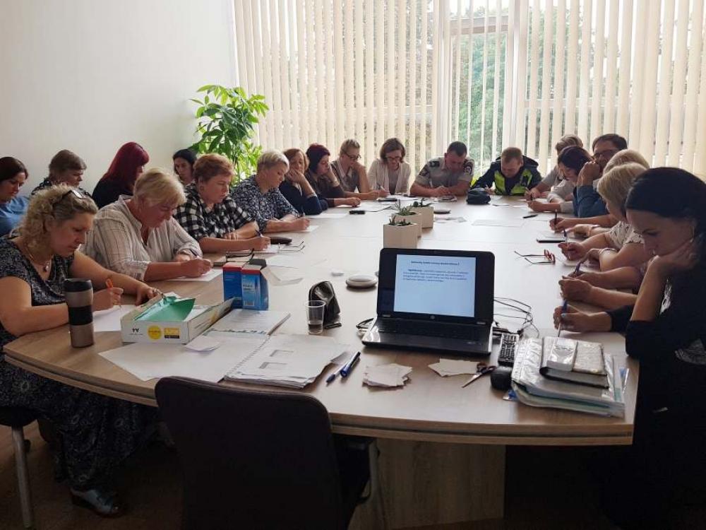 Savižudybių prevencijos mokymai Joniškio rajono savivaldybėje sulaukė didelio susidomėjimo