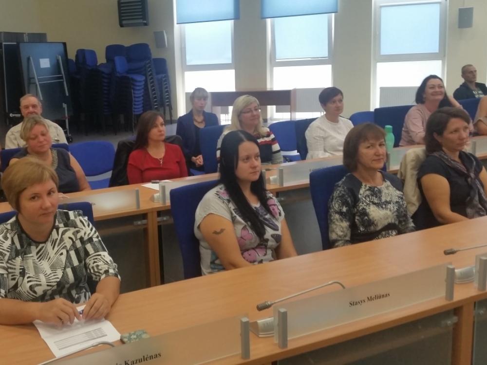 Savižudybių prevencijos mokymai Rokiškio rajone įkvėpė naujiems darbams