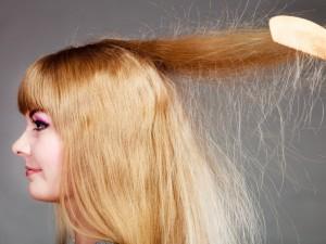 Kad plaukai nesielektrintų